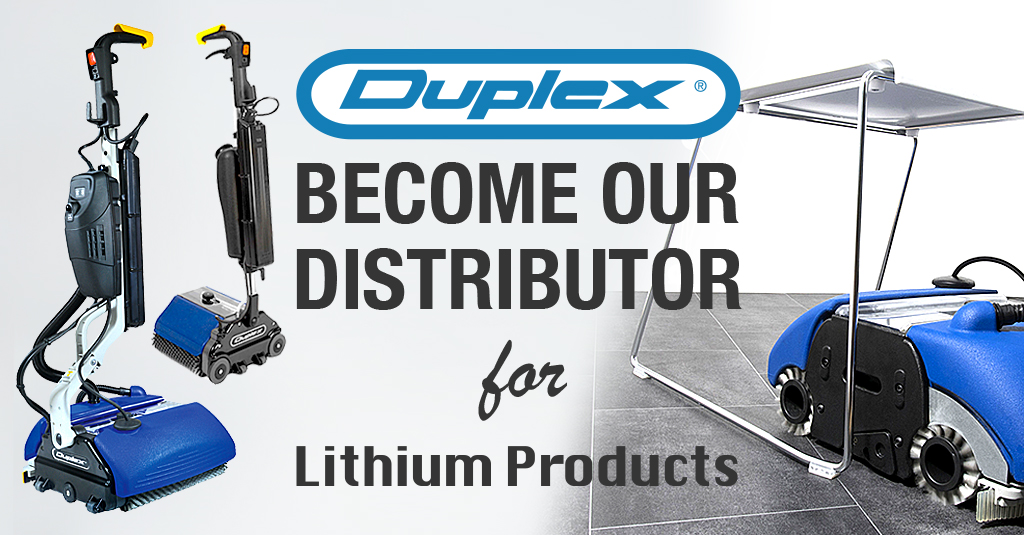 Become our distributor for Duplex Lithium products