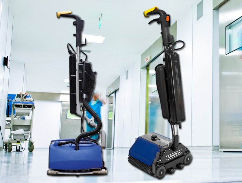 Healthcare Distributor for Duplex Lithium compact floor cleaner
