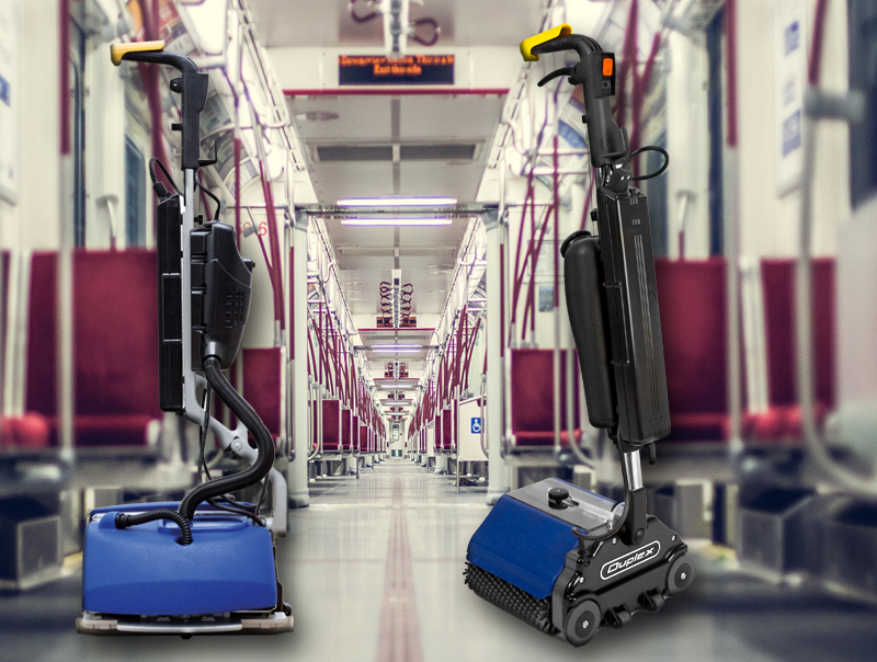 Automotive and Transportation sector distribution for Duplex Lithium compact floor cleaner