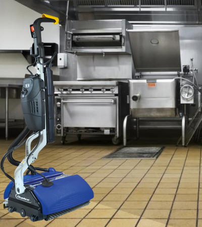 How to deep clean a greasy restaurant floor